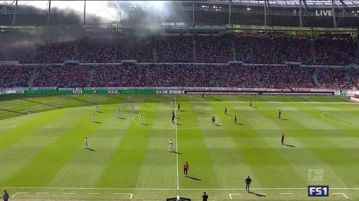 KICKOFF! Champions Bayern visit Hannover on FS1, while the big relegation battle Hamburg vs Freiburg is LIVE on FS2.