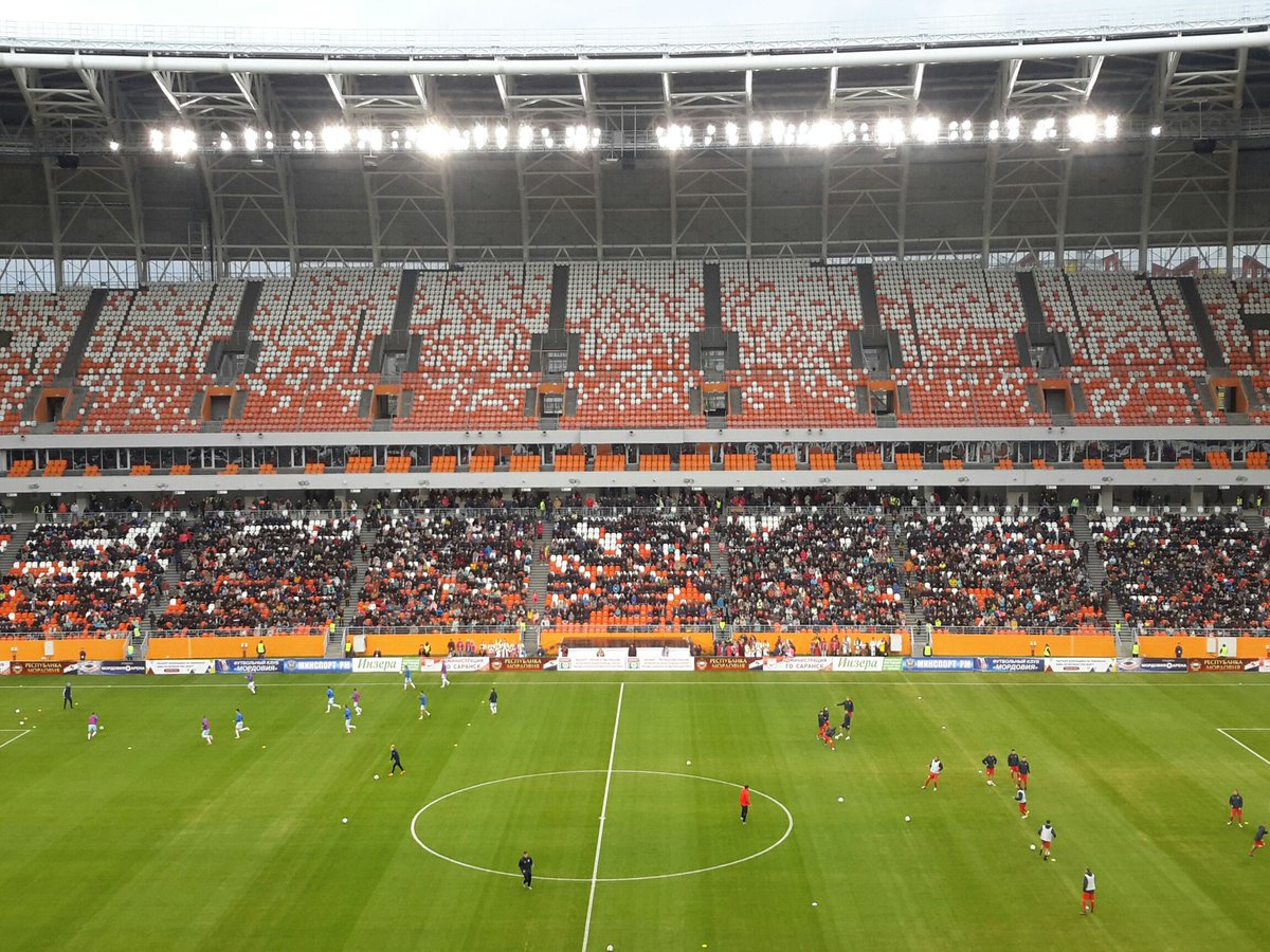 Russian Football News On Twitter Saransk S Mordovia Arena Officially Opens Today As Mordovia Saransk Take On Zenit Izhevsk In The Third Tier Pfl Four Worldcup Matches Will Take Place Here In The Tournament S