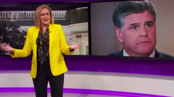 """Samantha Bee uses Hannity's own tactics to """"prove"""" he's a serial killer https://t.co/dF0Rg5nIIO"""