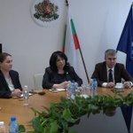 Ministar @AAnticBG sa bugarskom ministarkom @TemenuzhkaPP ocenio ključne energetske prioritete regiona Gasna konekcija i njen uticaj na sigurnost snabdevanja prioritet obe zemlje usled povećane poterbe za ovim energentom. Intenzivan zajednički rad na realizaciji projekta 🇷🇸🇧🇬