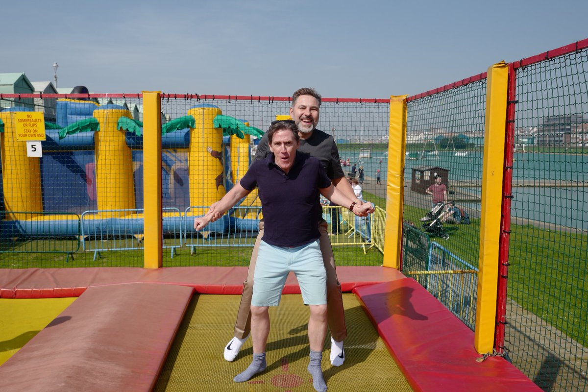 'Bouncing with Brydon' is a new 6 part series for BBC2.
