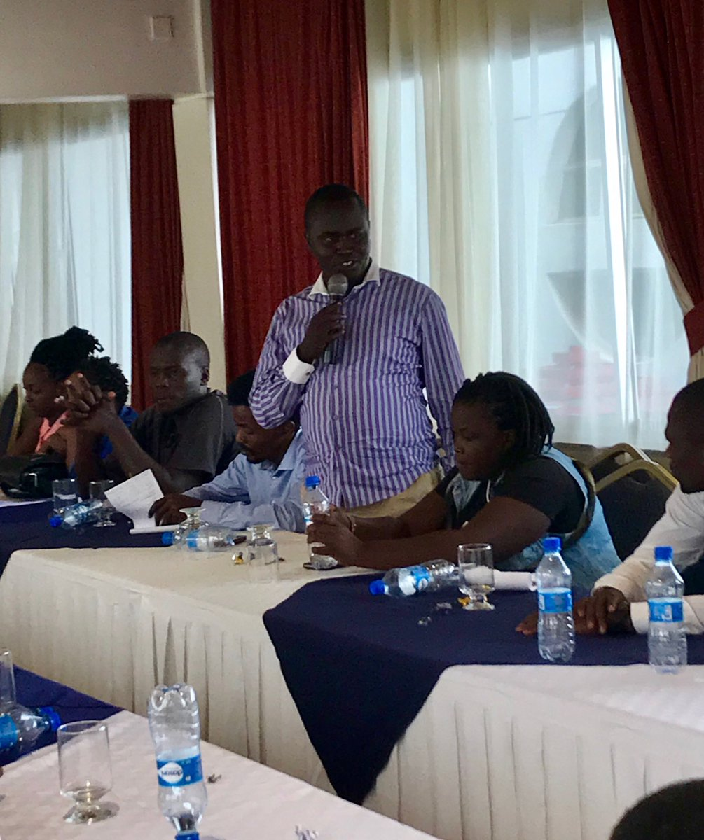 """""""As civil society, we must be champions of issues that are important to the people of Kisumu and amplify their voices."""" -Vincent Odhiamb of The Lake Victoria Youth Initiative at @IRIglobal MCA-CSO policy development working group workshop in Kisumu #Kenya. #representation <br>http://pic.twitter.com/HVRzhJQyTn"""