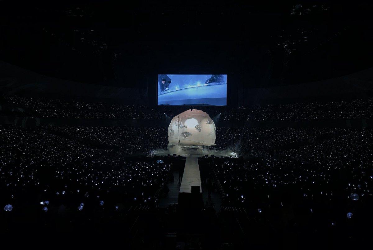 [#오늘의방탄] 달이 참 예쁘게 뜬 오늘, 도쿄에 와준 아미들 모두 행복...