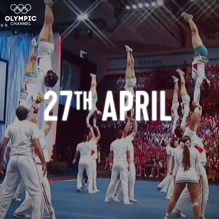 Image for the Tweet beginning: Are you ready to cheer?