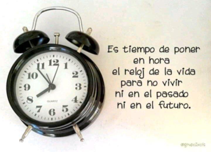 Andrés Carrascosa On Twitter Es Tiempo De Poner En Hora El Reloj