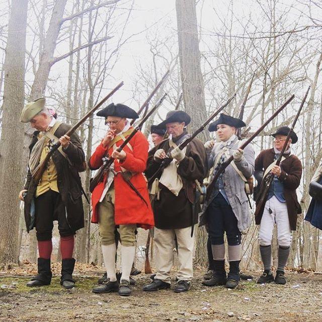 Great photo of the 2nd at Lexington! #revolutionarywar #2ndmass #2ndamendment https://t.co/0foJMrRKgx