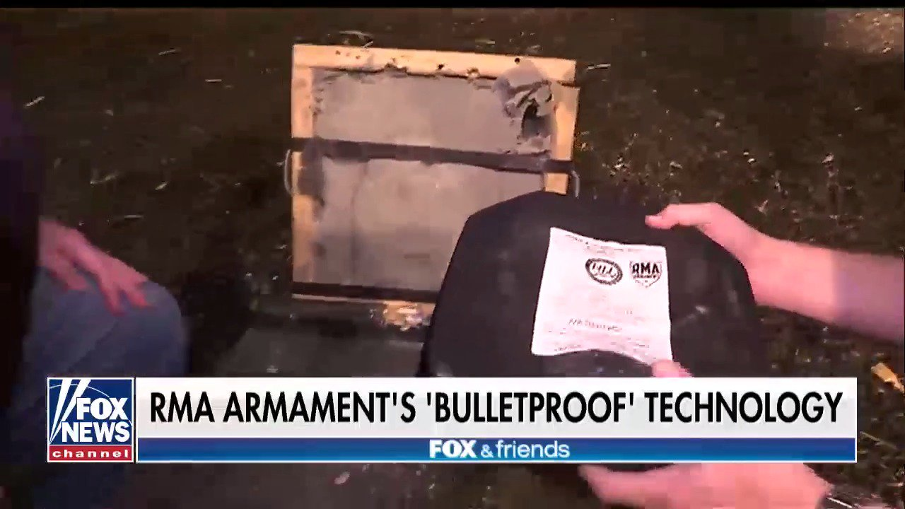 Military vet sets out to make world's strongest bullet-proof vest https://t.co/SkiURbdSwY https://t.co/reb2YHF5Jw