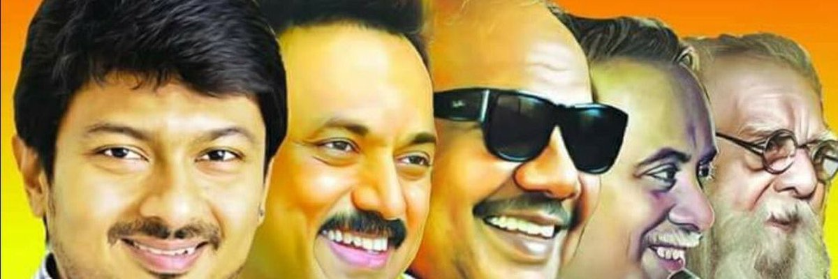 """SG Suryah on Twitter: """"That happened so quick! Can see so many new breed DMK Online supporters having this as Cover Pic in their social media accounts. Dynasty Munnetra Kazhagam is new"""