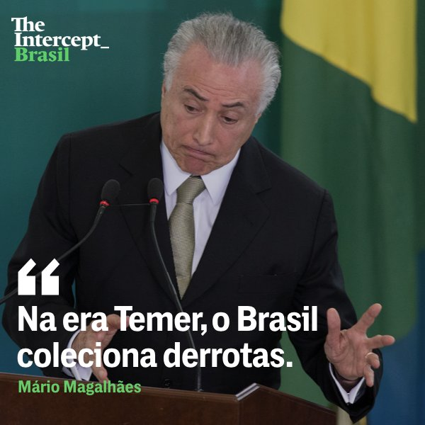 Michel Temer foi ridicularizado com 1% no Datafolha no cenário em que Lula ponteia com 30%. A precarização do trabalho patrocinada por sua reforma trabalhista e os escândalos de corrupção, mancham cada vez mais a reputação do presidente impopular. https://t.co/9i32lusTRz