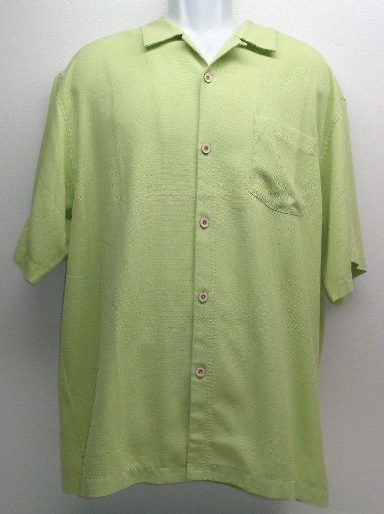 test Twitter Media - Tommy Bahama Size XXL BELIZE Lime Silk Short Sleeve Button Front New Mens Shirt https://t.co/m3dtieEYHN https://t.co/RxPCs5MPRc