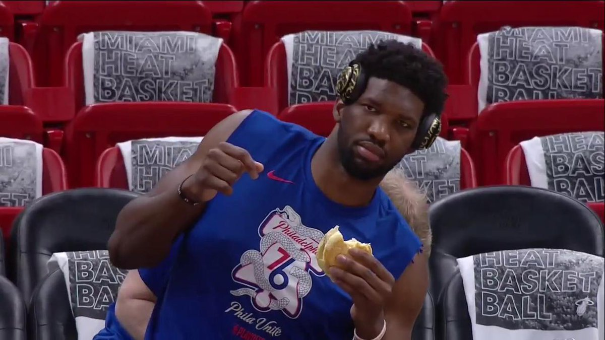 Embiid ready 😂