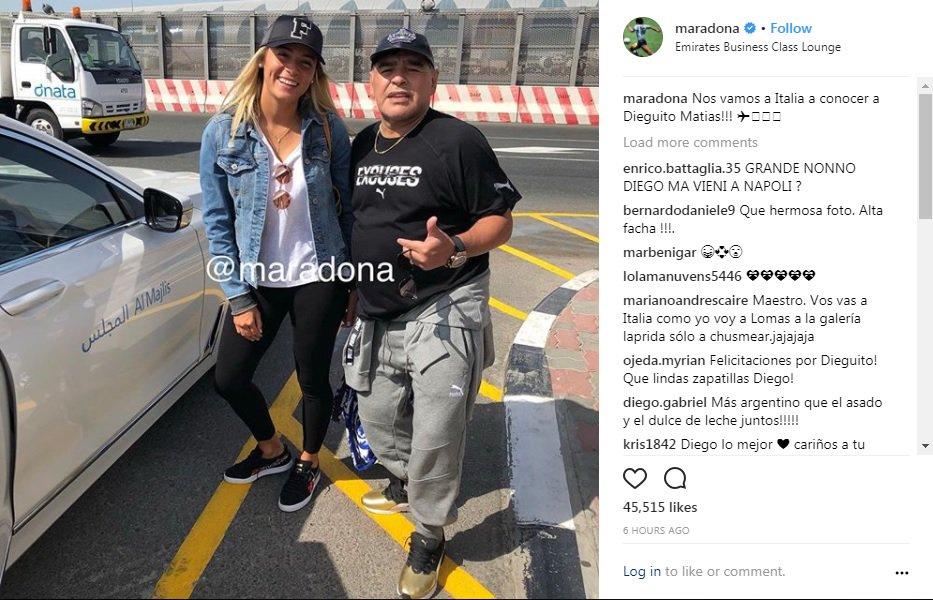 Maradona ad 'Amici' dalla De Filippi per conoscere il nipote - https://t.co/TLVKDhir44 #blogsicilianotizie #todaysport