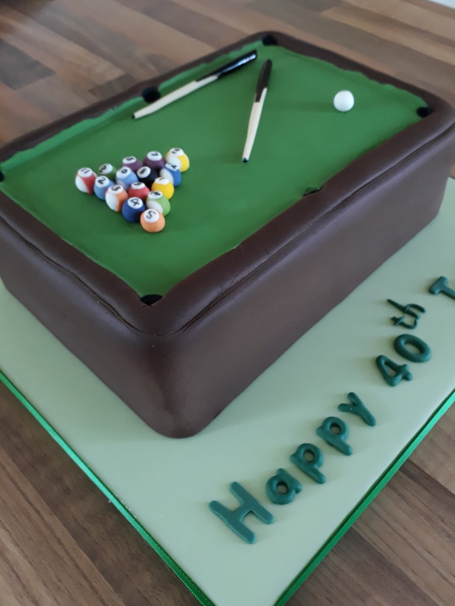 Surprising Sunflower Cake Co On Twitter Chocolate Pool Table Birthday For A Personalised Birthday Cards Akebfashionlily Jamesorg