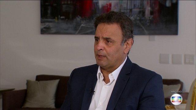 Joesley Batista diz em depoimento que fazia pagamentos mensais a Aécio Neves https://t.co/Kp882U9YBj #JornalHoje