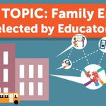 Discover our new Family Engagement featured topic page for research-based ways that schools can engage families as full partners in education: https://t.co/pHBHjPcKI7 #researchatwork
