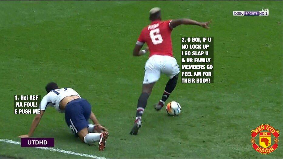 The way Maazi Pogba take bully the Almig...