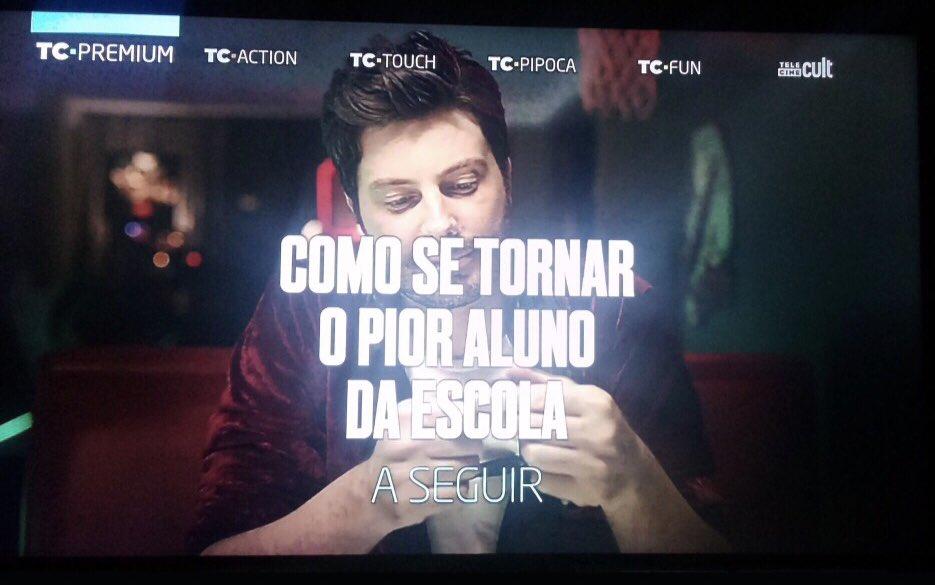 Ontem estreou no #TeleCinePremium . Fica...
