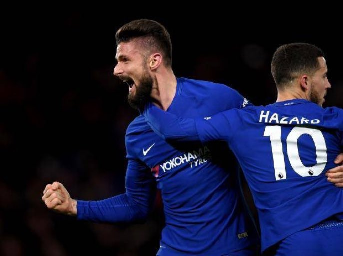 Giroud: #Chelsea is the biggest club in England for last 13 years because they are the most successful and have the most titles, I&#39;ve come here to keep winning, my record with Arsenal in Wembley was free of defeats and I would like to continue this record with Chelsea too. #CFC<br>http://pic.twitter.com/Xx04Zs1f1J