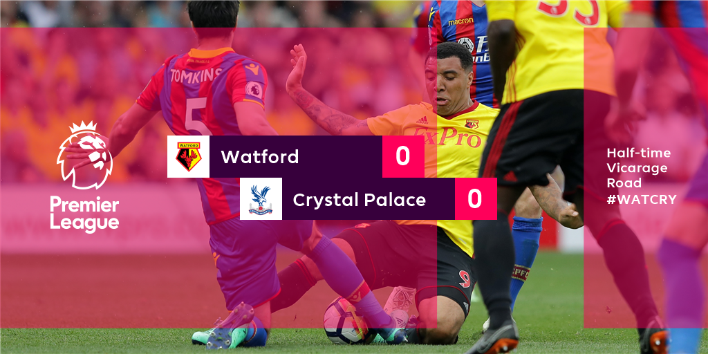 The home side have hit the bar, but that...