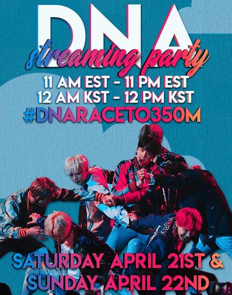 🚨#DNARaceTo350M starts NOW! 🚨  Go go go!...