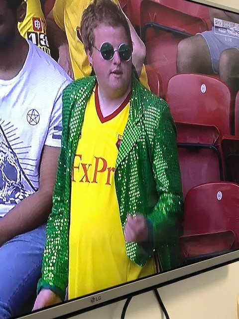 Watford's new top for next season is on show at Vicarage Road today, and it's an absolute banger.