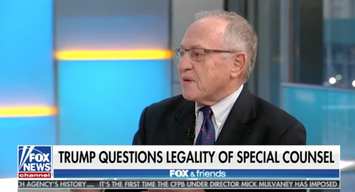 Was Trump's Tirade Against Maggie Haberman Inspired By Alan Dershowitz's Comments on Fox & Friends? https://t.co/8XV2SkYQVG