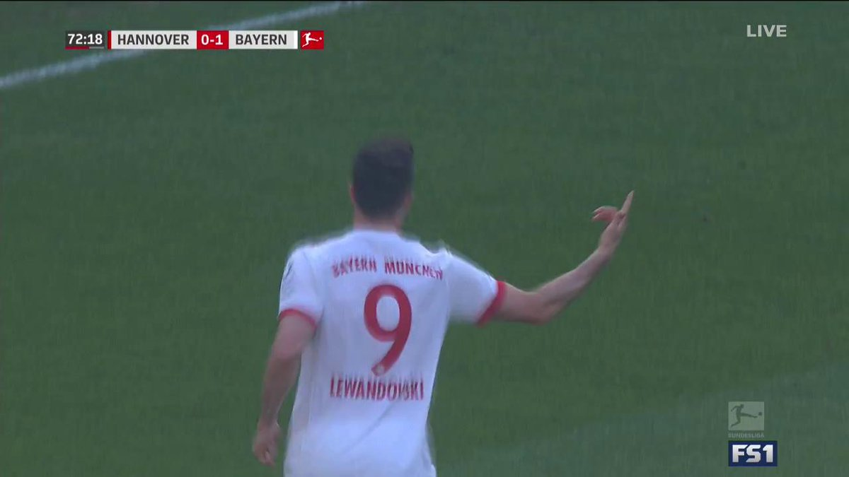 One goal, two milestones for Lewandowski!  The Bayern star becomes the top foreign goalscorer for one club in Bundesliga history, and nets his 150th goal for Bayern in all comps.
