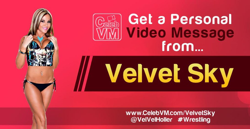 Get a personal video shout out from me! These are perfect #gifts for birthdays, graduation, motivational messages, etc.. Go to CelebVM.com/VelvetSky