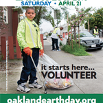 Image for the Tweet beginning: Happy Earth Day Oakland!