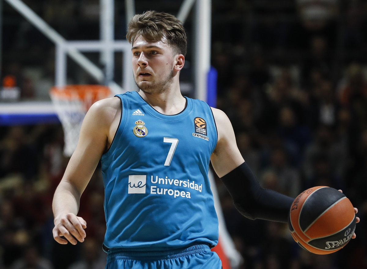 Luka Doncic has submitted paperwork to enter the 2018 NBA Draft, per @ShamsCharania