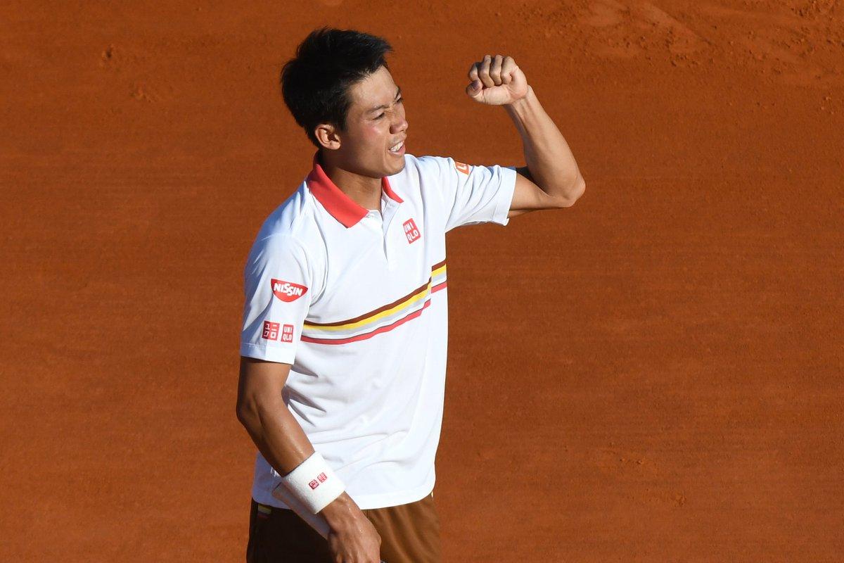 test Twitter Media - #Tennis 🎾🏆  Victorieux d'A. #Zverev 🇩🇪 en 3 sets 3/6 6/3 6/4, K. #Nishikori 🇯🇵 se qualifie pour la finale du #RolexMCMasters 🇲🇨 et défiera le décuple tenant du titre R. #Nadal 🇪🇸 (demain 1⃣4⃣h3⃣0⃣ sur @canalplus Sport). https://t.co/GFhMiShDwc