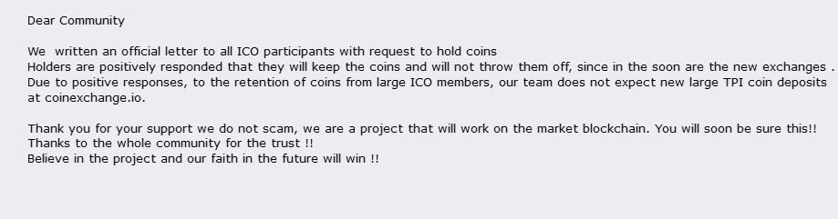 tpi coin cryptocurrency