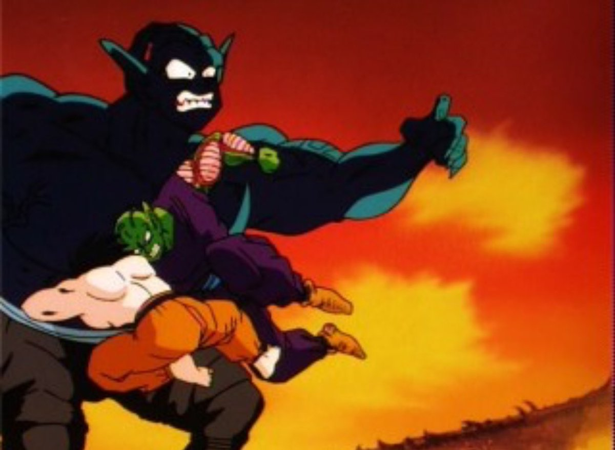 Emjay On Twitter Now Let S Talk About How Savage He Is My Nigga Was Ruthless He Put A Hole In Your Favorite Main Character Saga is the fifth saga in dragon ball z series. emjay on twitter now let s talk