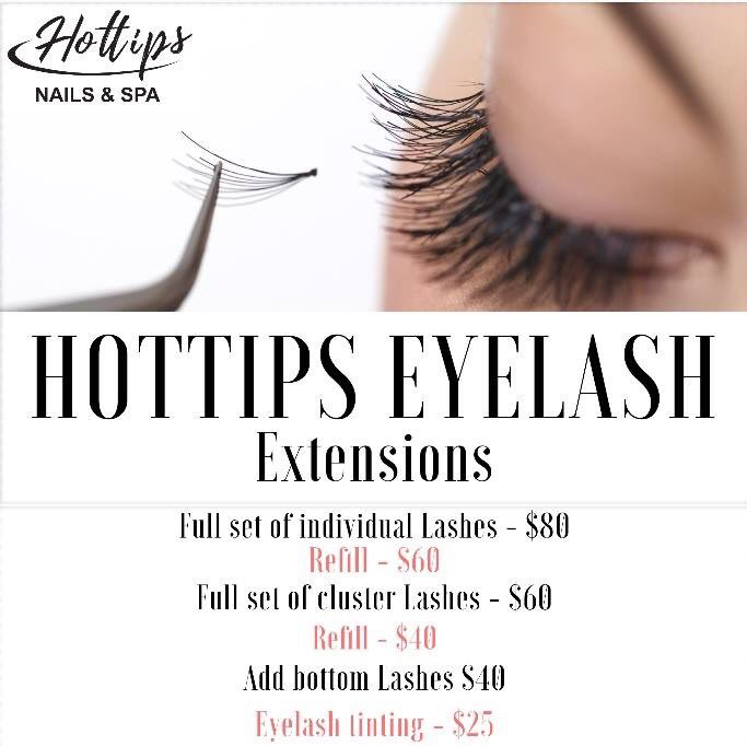 Hot Tips Mayfield On Twitter Eyelash Extensions Are One Of The Top