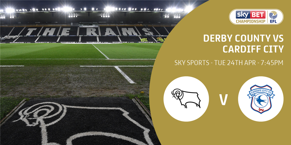 TV GAME: The rearranged fixture between @dcfcofficial and @CardiffCityFC on Tuesday night has been selected for @SkySports coverage.