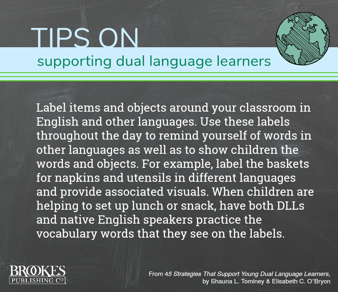 different languages in the classroom