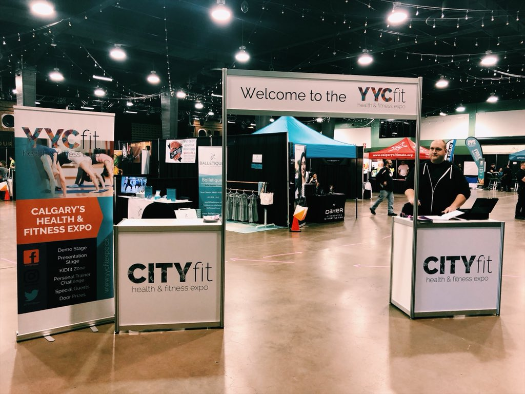 The doors just opened! Join us now and check out the best of Calgary&#39;s Health and Fitness industry! First 500 ppl get swag bags and everyone's entered for door prizes! #YYCfitExpo2018 #YYCfitExpo #YYCevents <br>http://pic.twitter.com/0pGMw4UZ8h &ndash; à Big Four Building