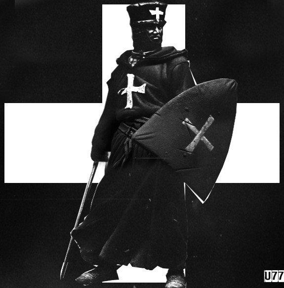 Poleciałem kiedyś z fb na miesiąc za tekst po angielsku Hail, thou White Cross. To angielski tytuł pieśni Joannitów Ave Crux Alba. Jesteśmy terroryzowani na społecznościówkach przez niedouczonych neostalinowców w rurkach, zgłoś, klik, klik. #DeleteFacebook