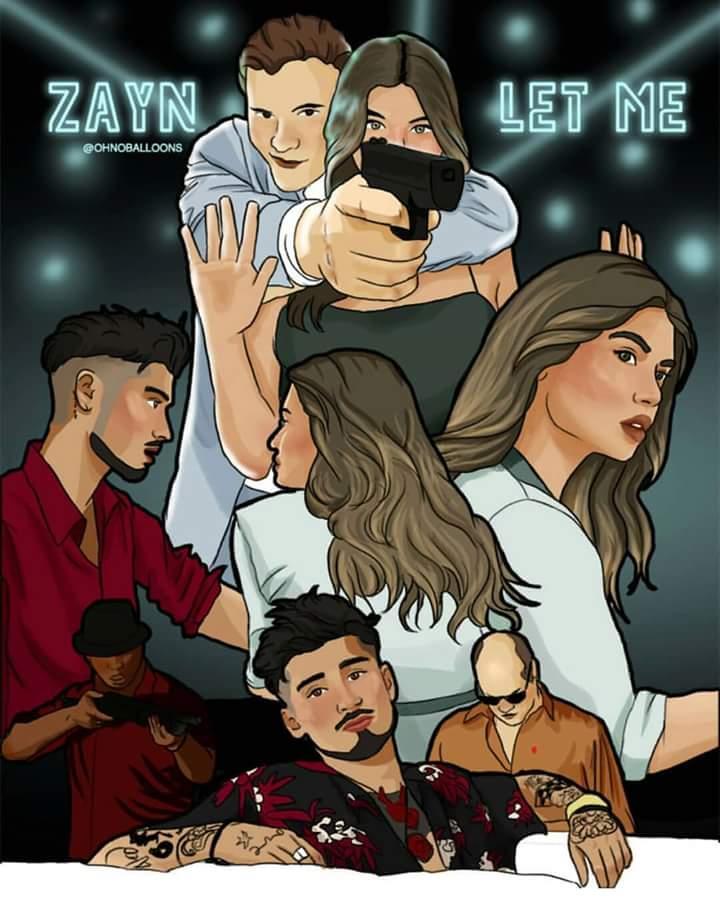 Zayn adicionou estas Fanart em seu álbum...