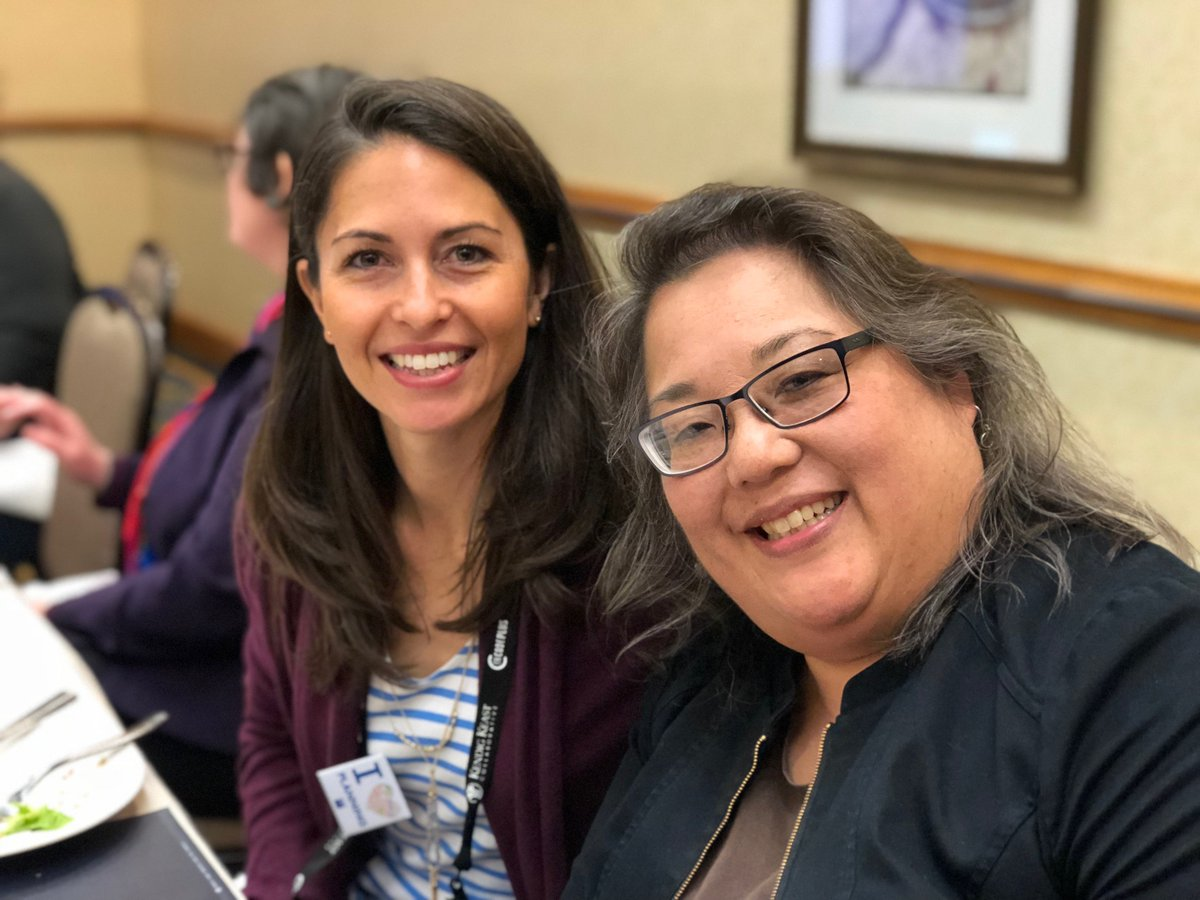 Monica Groh with @APA_Planning and ACSP Past-President Lois Takahashi, @USCPrice, working hard on behalf of their associations. Monica presented an APA update at the ACSP Spring Governing Board meeting in New Orleans, which coincides with #NPC18! #TheACSP #APA #PlanningPartners<br>http://pic.twitter.com/j15GznnUqK
