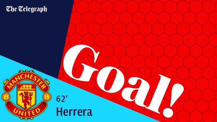 GOAL! Ander Herrera arrives right on cue to drive a low shot under Vorm https://t.co/d4CKuVPWtH