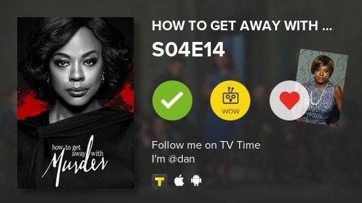 I've just watched episode S04E14 of How...