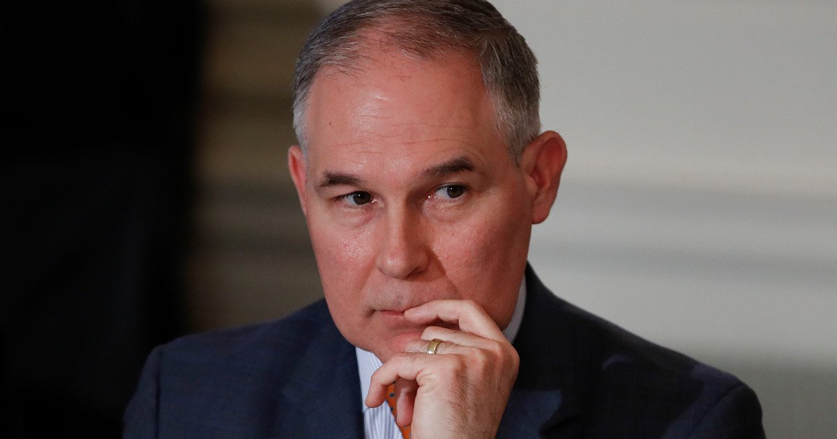 Scott Pruitt May Have Violated Oklahoma Ethics Rules as a State Senator https://t.co/psT6YwIxHu https://t.co/oayVQXjpKf