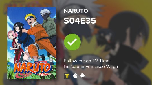 I've just watched episode S04E35 of Naru...