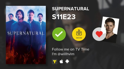 I've just watched episode S11E23 of Supe...