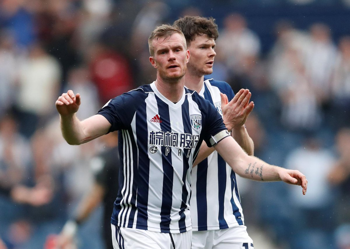 Chris Brunt has provided 50 assists for West Brom in the #PL - the first Northern Ireland player to reach this feat in the competition