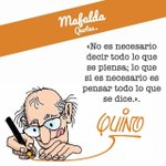 Image for the Tweet beginning: Lo que es necesario... #Quino