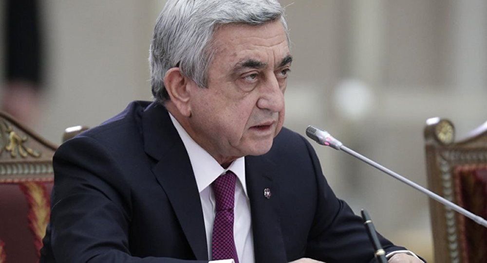 Ermenistan Devlet Başkanı muhalif liderl...
