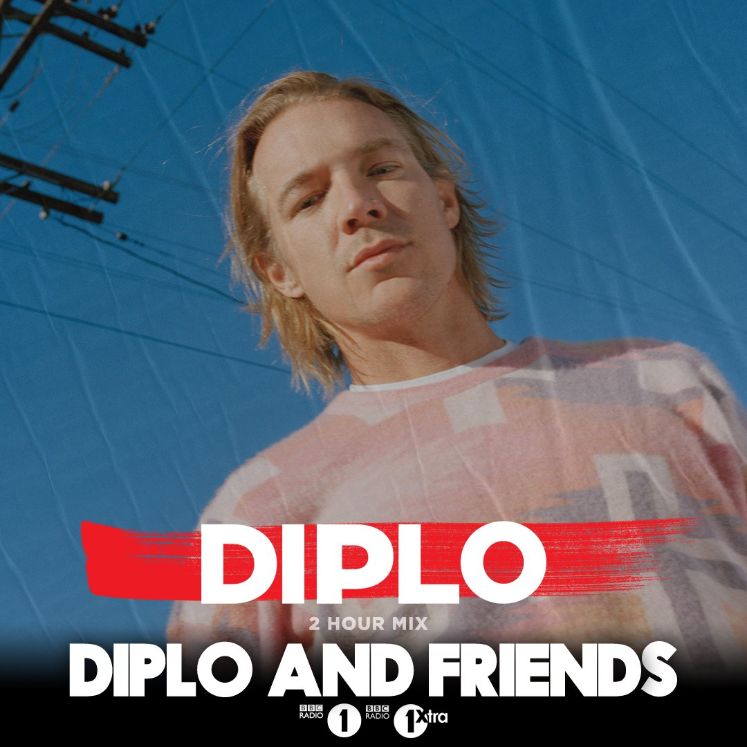 Still an hour left of @diplo and Friends with the man himself in the mix... he's got @yogottikom @DILLONFRANCIS @LilJon @BigSean &  sti@G_Eazyll to come 🔊➡️ https://t.co/rUkXjcmdvR