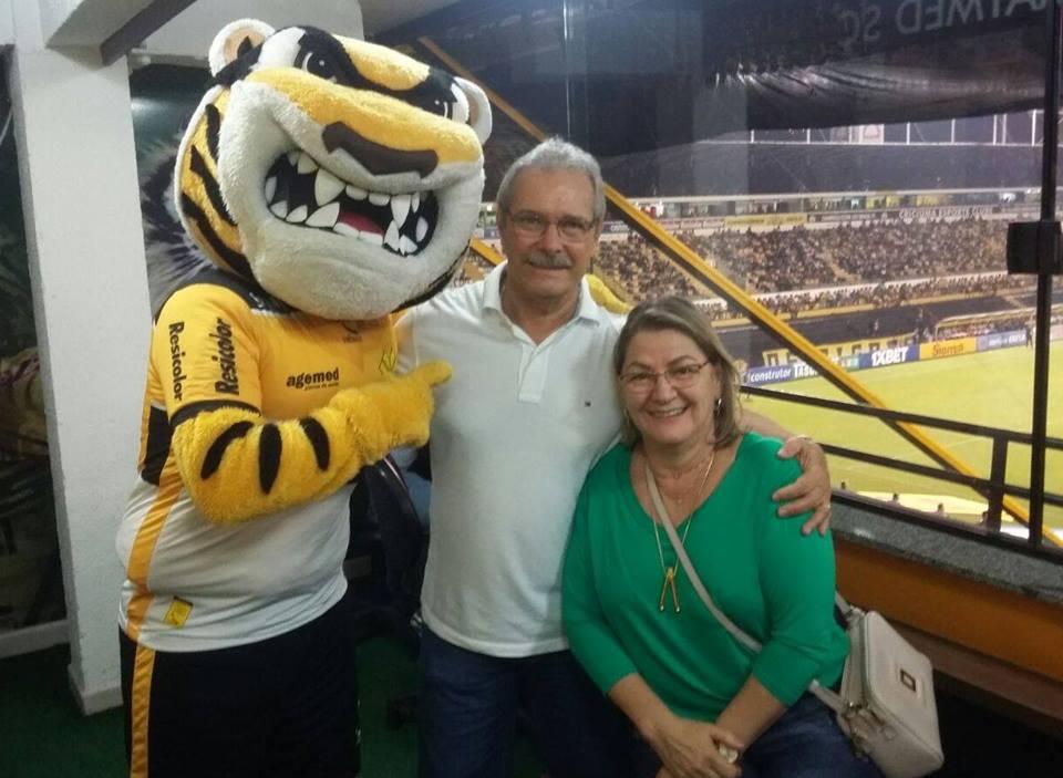 Valvitor Garbelotto é o Sócio Aniversariante do mês que está torcendo para o #Tigre de camarote, junto com sua família e seus amigos. Parabéns ao Valvitor e a todos os aniversariantes.  O Sócio do  garante benefícios exclusivos.